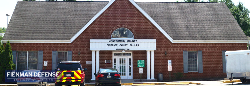 Montgomery County 38-1-25 Magisterial District Court